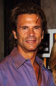 HOLLYWOOD - AUGUST 15: Lorenzo Lamas at the Los Angeles Premiere of Dirty Rotten Scoundrels on Augus