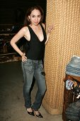 WEST HOLLYWOOD - AUGUST 24: Jennifer Leeser at the Antik Denim Pre-Emmy Gift Experience on August 4,