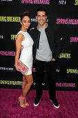 Jesse Metcalfe, Cara Santana at the Los Angeles Premiere of