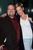 Peter Sullivan, Ashley Scott at the premiere pf