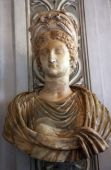 Ancient Statue Of Empress Livia, Wife Of Augustus Caesar, Capitoline Museum Rome Italy