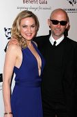 Elaine Hendrix, Moby at the 2013 Genesis Awards Benefit Gala, Beverly Hilton, Beverly Hills, CA 03-2