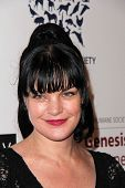 Pauley Perrette at the 2013 Genesis Awards Benefit Gala, Beverly Hilton, Beverly Hills, CA 03-23-13