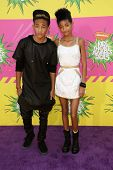 Jaden Smith, Willow Smith at Nickelodeon's 26th Annual Kids' Choice Awards, USC Galen Center, Los An