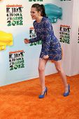Kristen Stewart at the 2012 Nickelodeon Kids' Choice Awards, Galen Center,  Los Angeles, CA 03-31-12