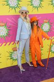 Kesha and brother Louie Sebert at Nickelodeon's 26th Annual Kids' Choice Awards, USC Galen Center, L