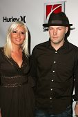 HOLLYWOOD - AUGUST 02: Fred Durst and Krista Salvatore at Saturn's X-Games 12 Party at 6820 Hollywoo
