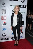 Sina Henrie at the No Kill L.A. Charity Event, Fred Segal, West Hollywood, CA 04-02-13