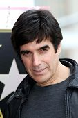 David Copperfield at Penn & Teller's induction into the Hollywood Walk Of Fame, Hollywood, CA 04-05-13