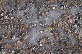 Texture Of Ice And Stone