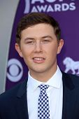 Scotty McCreery at the 48th Annual Academy Of Country Music Awards Arrivals, MGM Grand Garden Arena,