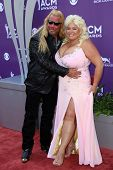 Duane Chapman, Beth Chapman at the 48th Annual Academy Of Country Music Awards Arrivals, MGM Grand Garden Arena, Las Vegas, NV 04-07-13