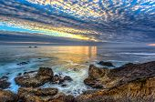stock photo of pch  - Vibrant Colors of Garrapata State Beach Sunset - JPG
