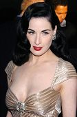 LOS ANGELES - APRIL 12: Dita Von Teese at the 3rd Annual Bodog Celebrity Poker Invitational at Barke