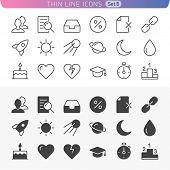 Trendy Line Icons