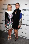 Julianne Hough, Teresa Palmer at the British Fashion Council's