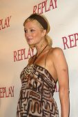 LOS ANGELES - APRIL 24: Paris Hilton at the Brandon Davis and Replay celebrate store opening and the launch of The Brandon Davis Jean at Falcon on April 24, 2006 in Los Angeles, CA.