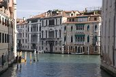 side canal of venice, italy