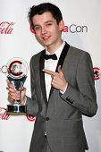 Asa Butterfield at the CinemaCon Big Screen Achievement Awards , Caesars Palace, Las Vegas, NV 04-18