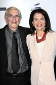 Martin Landau, Sherry Lansing at the  27th Israel Film Festival Opening Night Gala, Writiers Guild T
