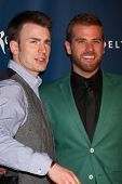 Chris Evans, Scott Evans at the 24th Annual GLAAD Media Awards, JW Marriott, Los Angeles, CA 04-20-13