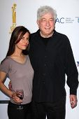 Avi Lerner and guest at the  27th Israel Film Festival Opening Night Gala, Writers Guild Theater, Be