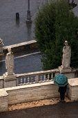 Statues Of Piazza Del Popolo, Rome