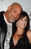 HOLLYWOOD - APRIL 30: Bill Goldberg and Wanda Ferraton at the Larpy Awards at Avalon on April 30, 20
