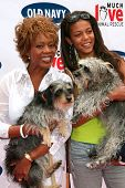 BEVERLY HILLS - APRIL 29: Alfre Woodard and guest at the Old Navy Nationwide Search for a New Canine