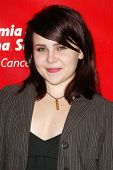 HOLLYWOOD - APRIL 06: Mae Whitman at the 2nd Annual Celebrity Rock 'N' Bowl Tournament at Lucky Stri
