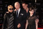 Max von Sydow with his guests at the TCM Classic Film Festival Opening Night Red Carpet Funny Girl, Chinese Theater, Hollywood, CA 04-25-13