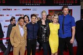 Chelsea Kane and her guests at the