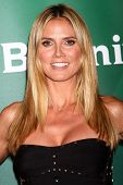 Heidi Klum at the 2013 NBC Universal Summer Press Day , Langham Huntington Hotel, Pasadena, CA 04-22-13