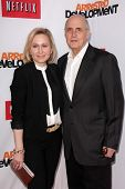 Jeffrey Tambor and Kasia Ostlun at the