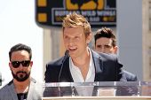 AJ McLean, Nick Carter and Kevin Richardson at the