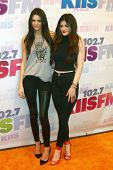 Kendall Jenner, Kylie Jenner at the 2013 Wango Tango concert produced by KIIS-FM, Home Depot Center,