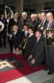 Jay Osmond, Merrill Osmond, Vernon Osmond, Andy Williams, Jimmy Osmond, Alan Osmond, Wayne Osmond, Tom Osmond, Johnny Grant, Donny Osmond, Marie Osmond, Leron Gubler CA 08-07-03