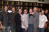 Bradley Cooper, Michael Vartan, Ron Rifkin,  J.J. Abrams, Jennifer Garner, Victor Garber, Carl Lumbly, Kevin Weisman and Merrin Dungey at the launch of