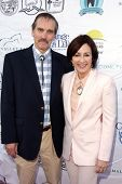 Bill Moseley and Patricia Heaton at the Compton Jr, Posse Gala honoring Patricia Heaton and Portia d