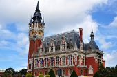 City hall of Calais, Normandy, France