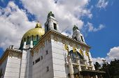 Otto Wagner Church in Vienna, Austria