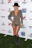 Caroline D'Amore at the 2013 Maxim Hot 100 Party, Vanguard, Hollywood, CA 05-15-13
