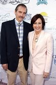 Bill Moseley, Patricia Heaton at the Compton Jr, Posse Gala honoring Patricia Heaton and Portia de R