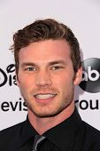 Derek Theler at the Disney Media Networks International Upfronts, Walt Disney Studios, Burbank, CA 05-19-13