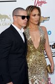 Casper Smart and Jennifer Lopez at the 2013 Billboard Music Awards Arrivals, MGM Grand, Las Vegas, N