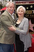 Armistead Maupin and Olympia Dukakis at the Olympia Dukakis Star on the Hollywood Walk of Fame Ceremony, Hollywood, CA 05-24-13