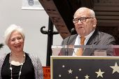 Olympia Dukakis, Ed Asner at the Olympia Dukakis Star on the Hollywood Walk of Fame Ceremony, Hollywood, CA 05-24-13