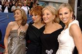 HOLLYWOOD - APRIL 28: Meredith Vieira, Joy Behar, Barbara Walters and Elisabeth Hasselbeck at The 33