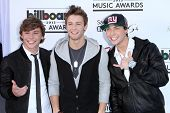 Keaton Stromberg, Drew Chadwick, Wesley Stromberg at the 2013 Billboard Music Awards Arrivals, MGM Grand, Las Vegas, NV 05-19-13