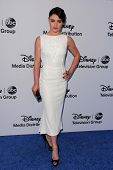 Emilie de Ravin at the Disney Media Networks International Upfronts, Walt Disney Studios, Burbank, C